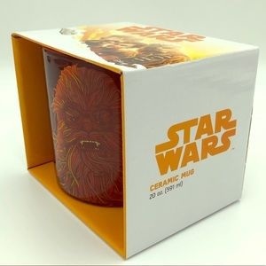 New in Box Star Wars Chewie Mug NWT